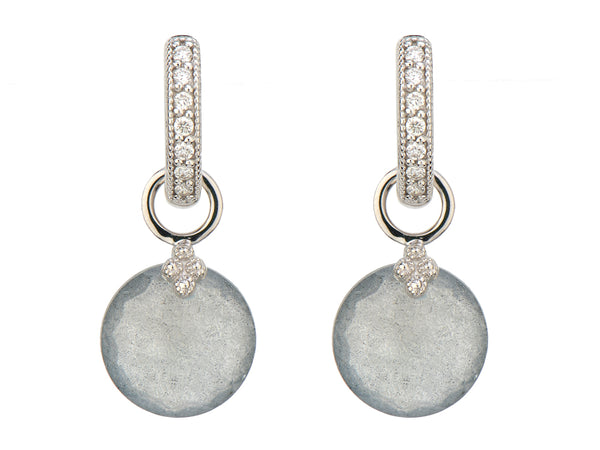 Labradorite Round Earring Charms