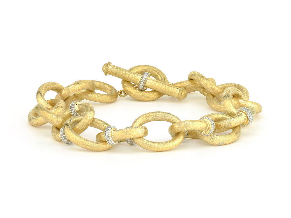 Loopy Chain Toggle Bracelet