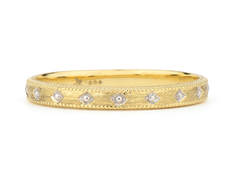 Lisse Delicate Beaded Band