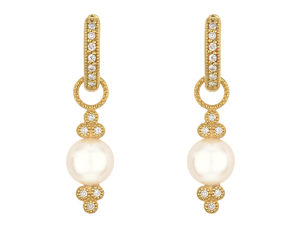 Provence Pearl Charms