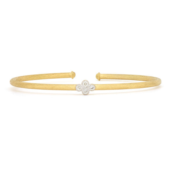 Single Quad Brushed Bangle