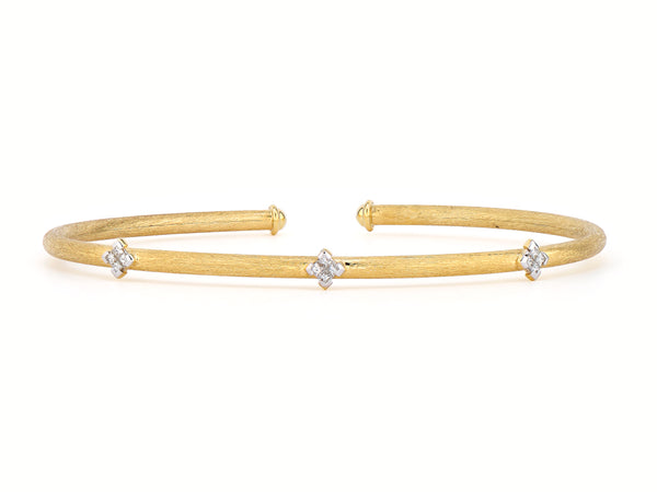 Princess Kite Flexible Brushed Bangle