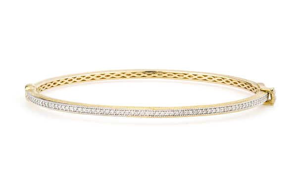 Delicate Diamond Bangle