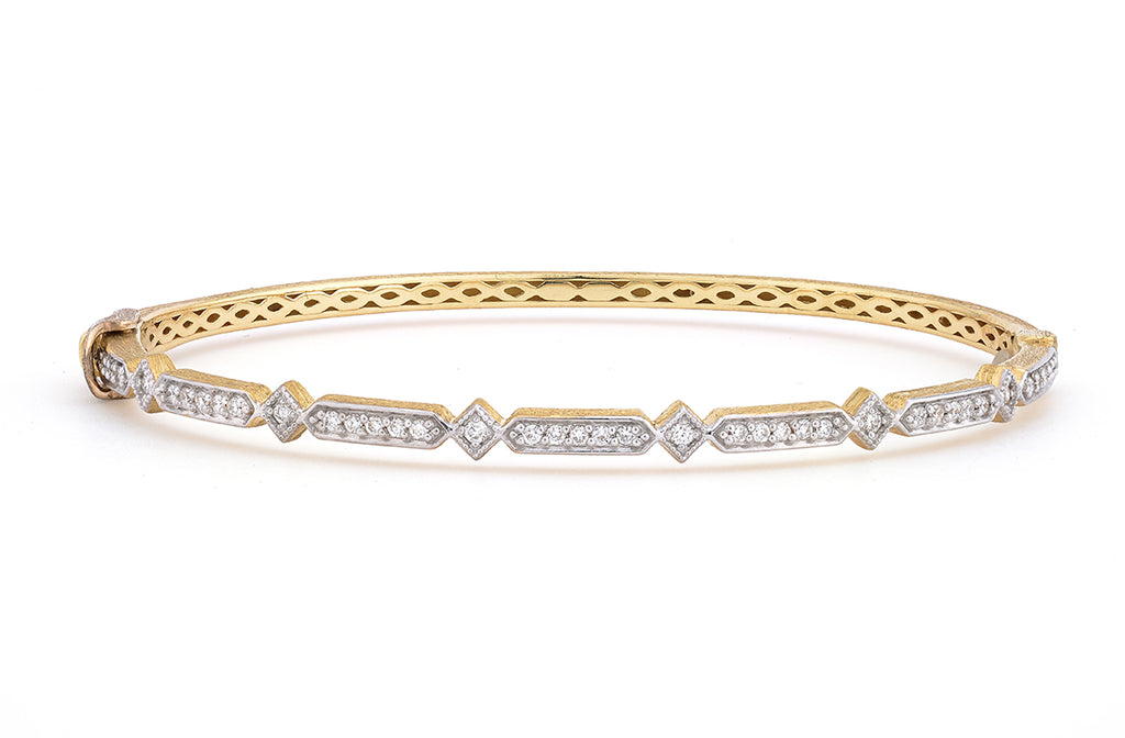 Lisse Kite Diamond Bangle