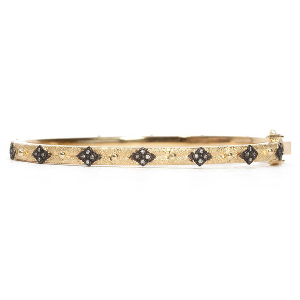 Yellow Gold Cross Bracelet