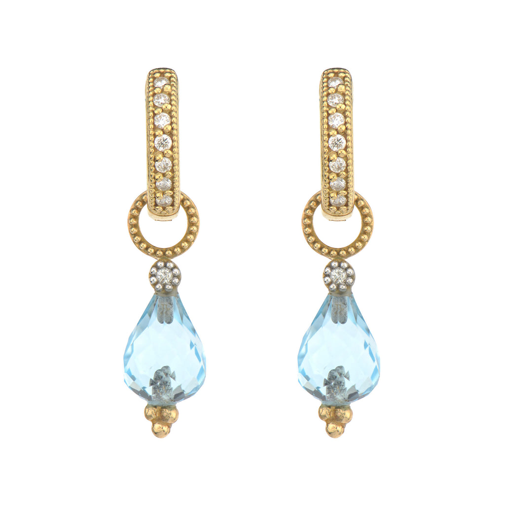 Pear Briolette Earring Charms