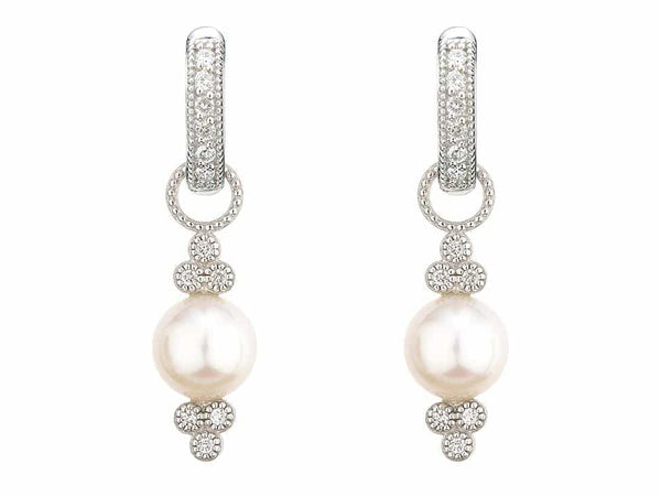 Diamond and Pearl Charms