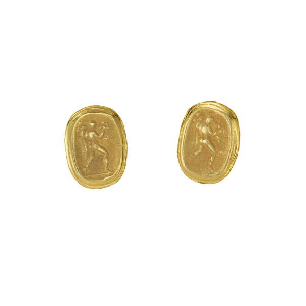 Pompei Coin Earrings