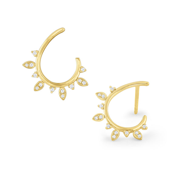 Laurel Arc Earrings