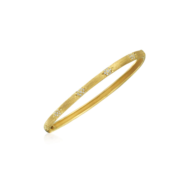 Florentine Diamond Bangle