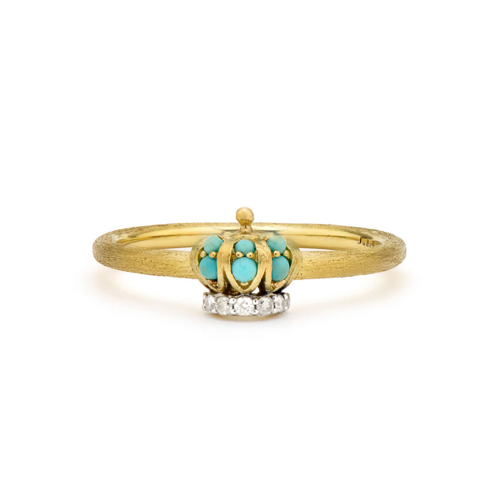 Petite Turquoise Crown Band