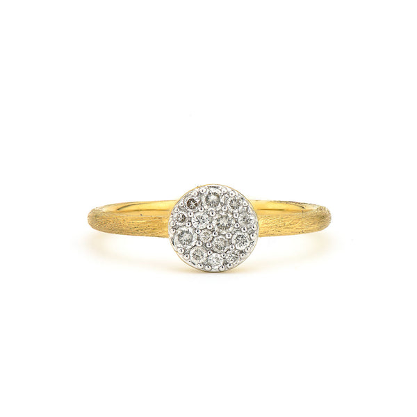 Petite Pave Diamond Circle Band