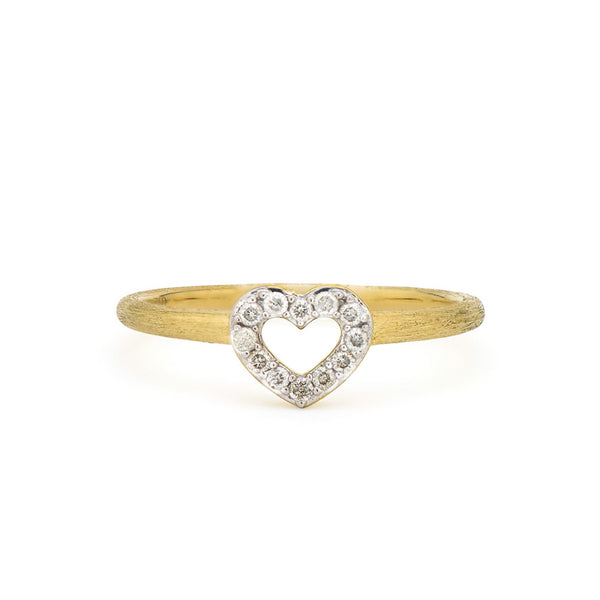 Diamond Open Heart Band