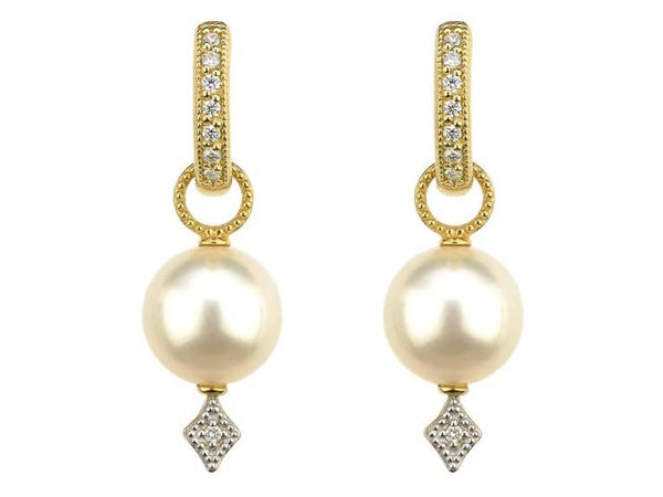 Large Lisse Pearl Earring Charms
