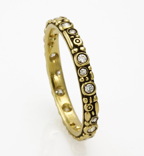 Gold and Diamond Band