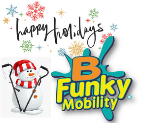 BFunkyMobility Holiday Logo