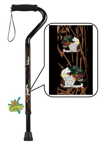 Offset Style Walking Canes for the Wild Side in You!