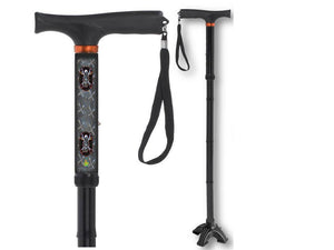 cold steel biker folding walking cane bfunkymobility