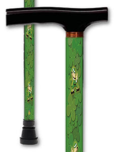 T Handle Walking Canes with Inspirational & Irish Designs