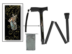 Folding Walking Canes Religious and Inspirational Designs Starting @ $39.99