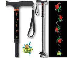 Load image into Gallery viewer, Very Cool and Fun Folding Walking Canes