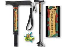 Load image into Gallery viewer, Folding Walking Canes Religious and Inspirational Designs Starting @ $39.99
