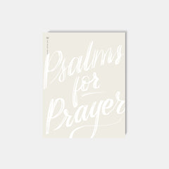 Psalms for Prayer