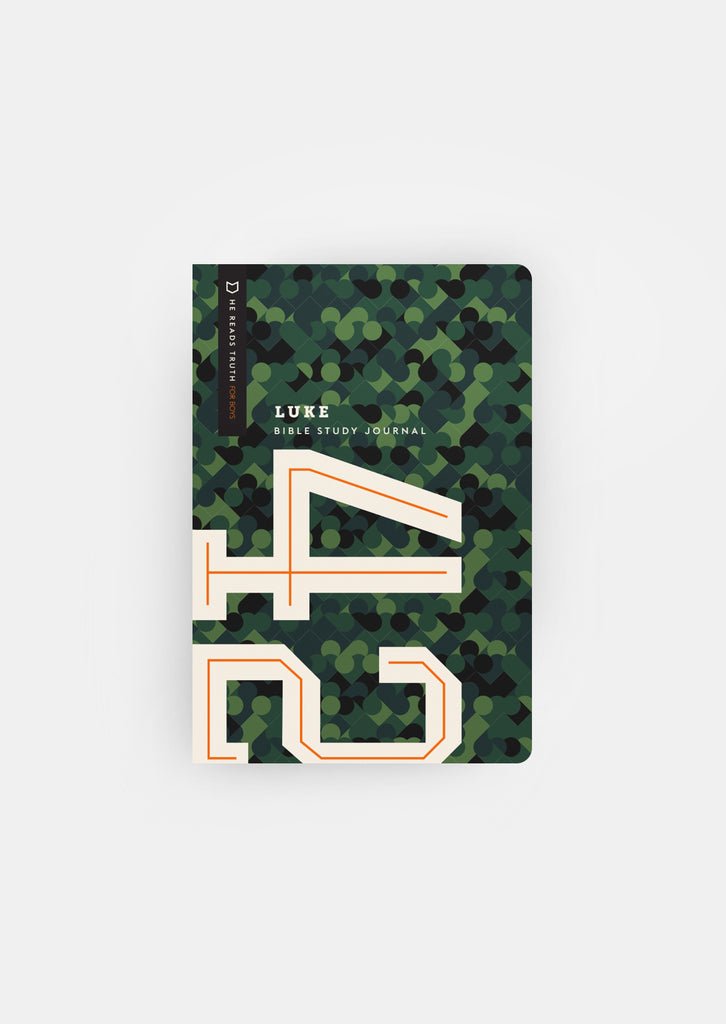 Luke Bible Study Journal For Boys