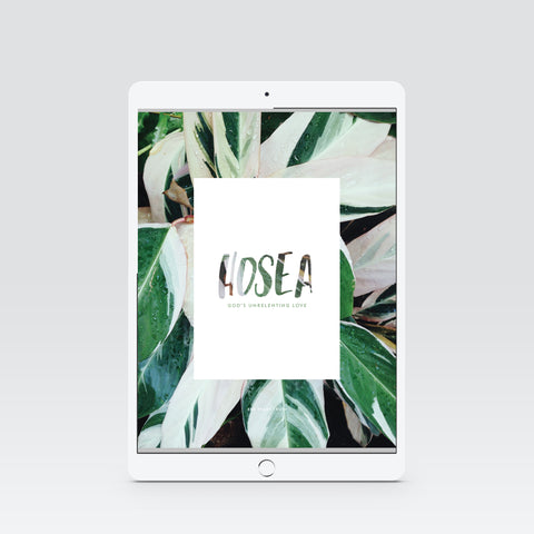 Hosea Digital Study Book