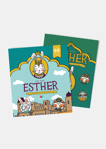 Kids Read Esther: A Read-And-Play Scripture Book