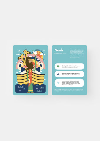 People in the Bible Conversation Cards - Old Testament | Kids Read Truth