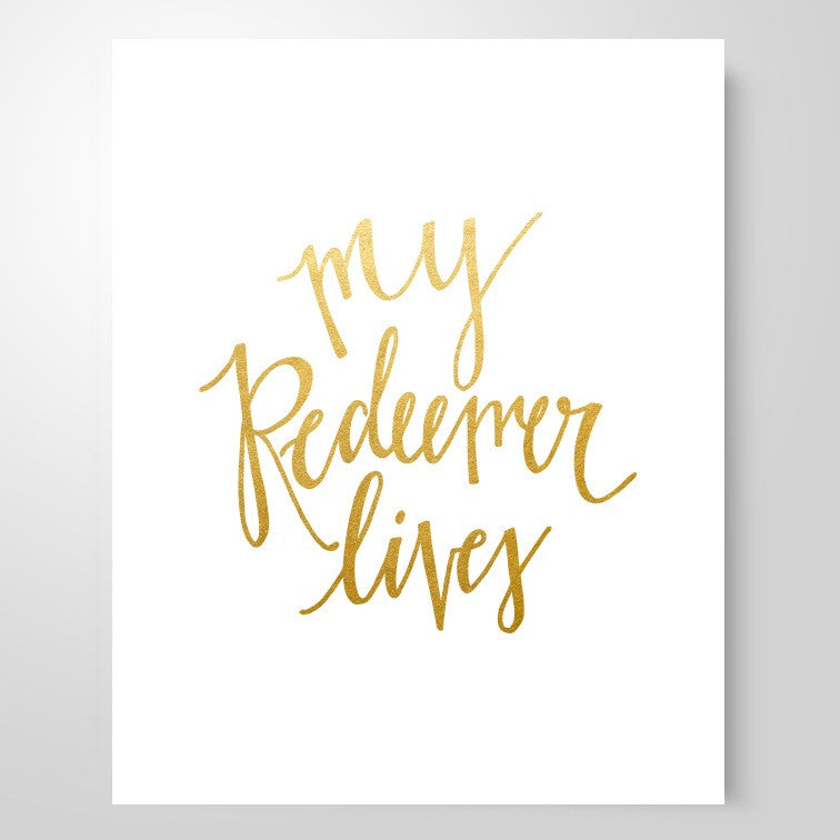 """My Redeemer Lives"" 