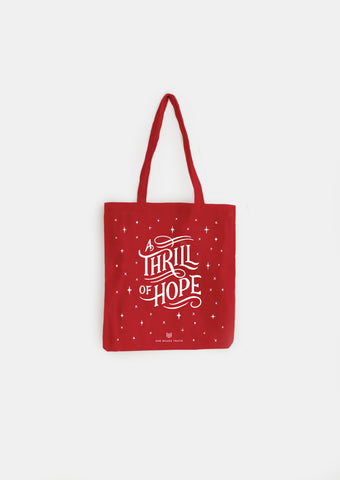A Thrill of Hope Tote
