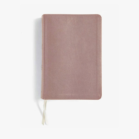 She Reads Truth Bible, Rose Gold LeatherTouch (Indexed)