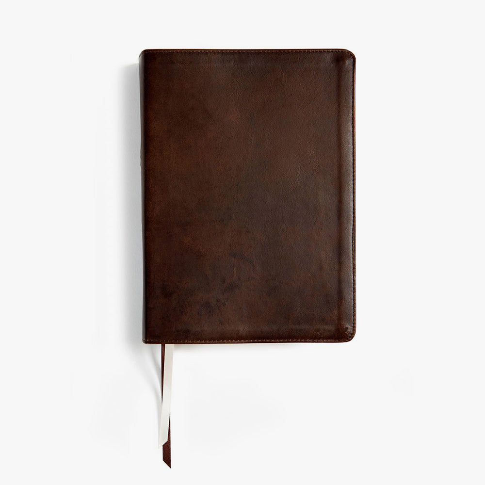 She Reads Truth Bible, Genuine Leather (Indexed)