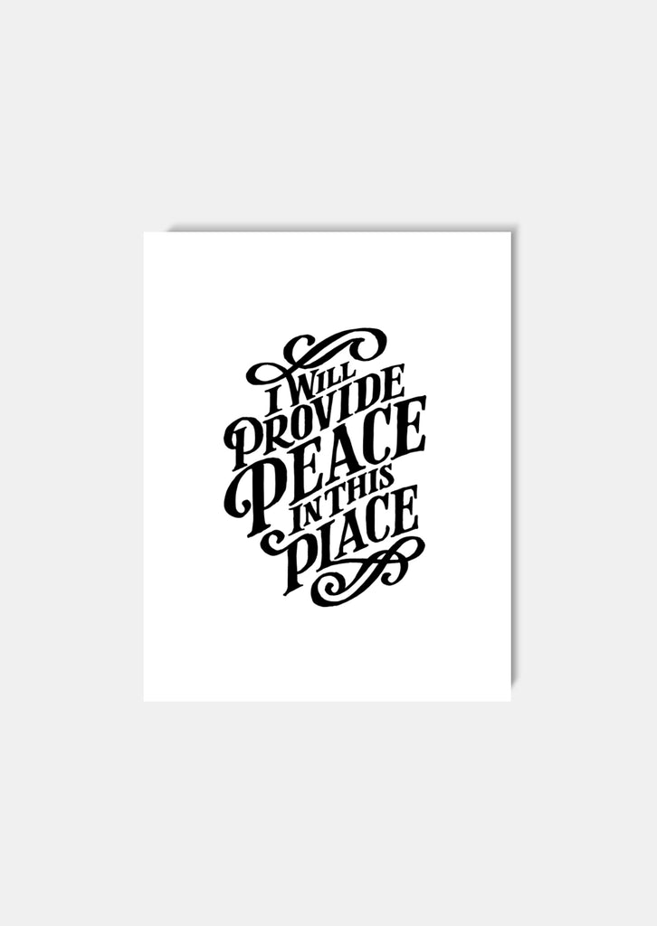 Peace in this Place 8x10 Art Print