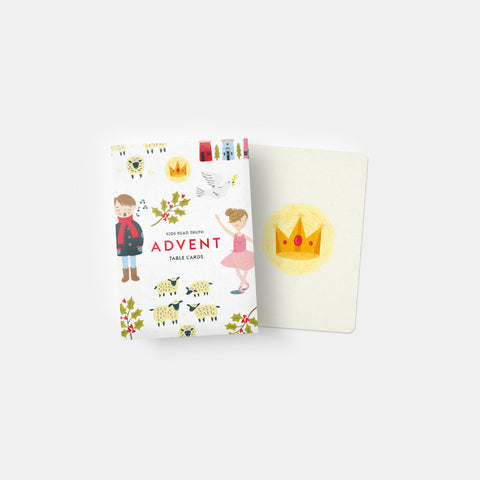Advent 2016 Table Cards | Kids Read Truth