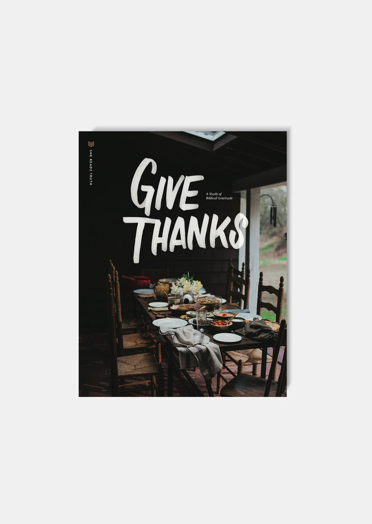 Give Thanks Study Book | She Reads Truth