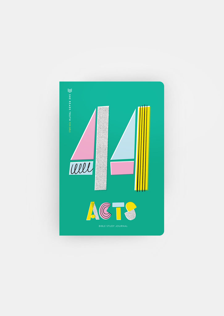 Acts Bible Study Journal for Girls