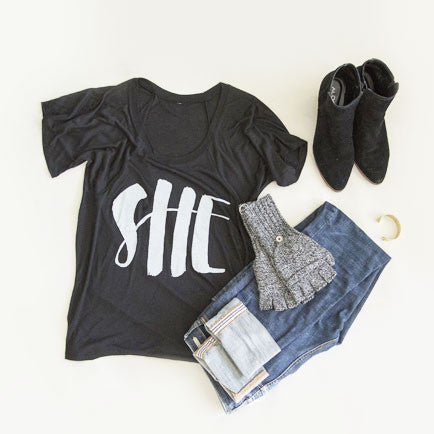 The 'She' Shirt