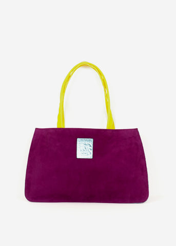 Hayward x ARossGirl Gloria Bag in Azalea Suede