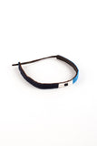 ARossGirl Kenyan Maasai Beaded Choker in Aqua Navy Black