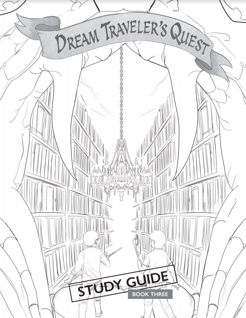 The Dream Traveler's Quest Printable Workbooks (Ages 7-12)