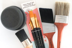 Paint and Wax Brushes
