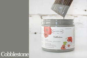 Cobblestone Chalk Style All-In-One Paint from Country Chic Paint - DIY eco friendly home decor paint