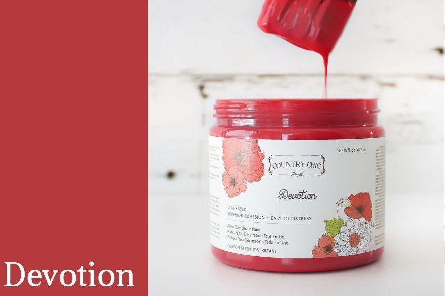 Devotion Chalk Style All-In-One Paint from Country Chic Paint - DIY eco friendly home decor paint