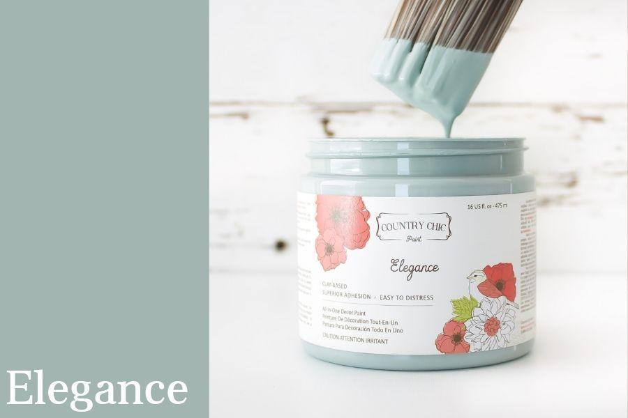 Elegance Chalk Style All-In-One Paint from Country Chic Paint - DIY eco friendly home decor paint