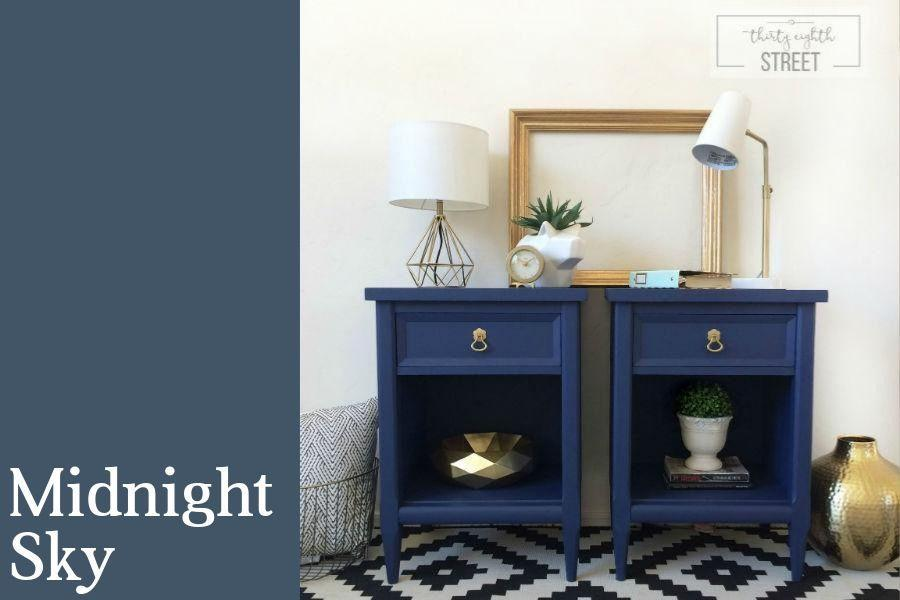 Midnight Sky Chalk Style All In One Paint By Country Chic Paint
