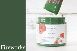 Fireworks Furniture Paint - All-in-One Decor Paint from Country Chic Paint - DIY eco friendly home decor paint