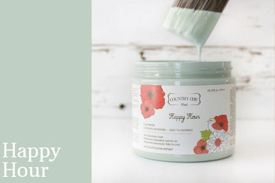 Happy Hour Chalk Style All-In-One Paint from Country Chic Paint - DIY eco friendly home decor paint